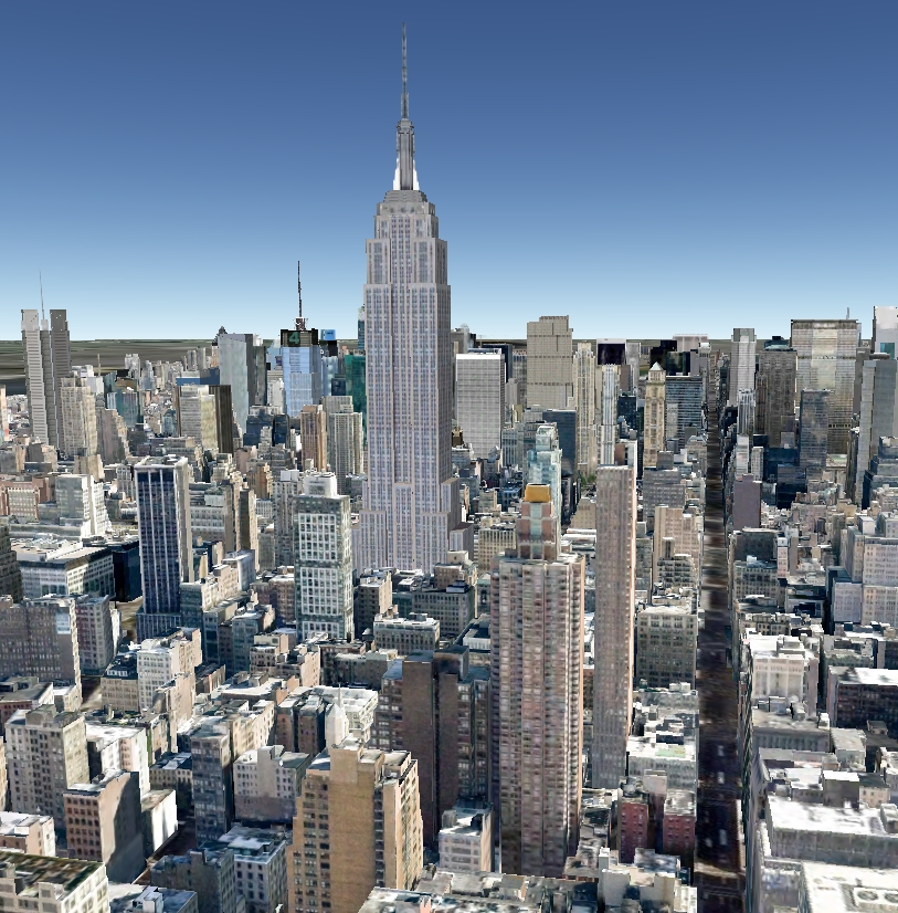 Google earth updates new york city 3d models decoding for New york models