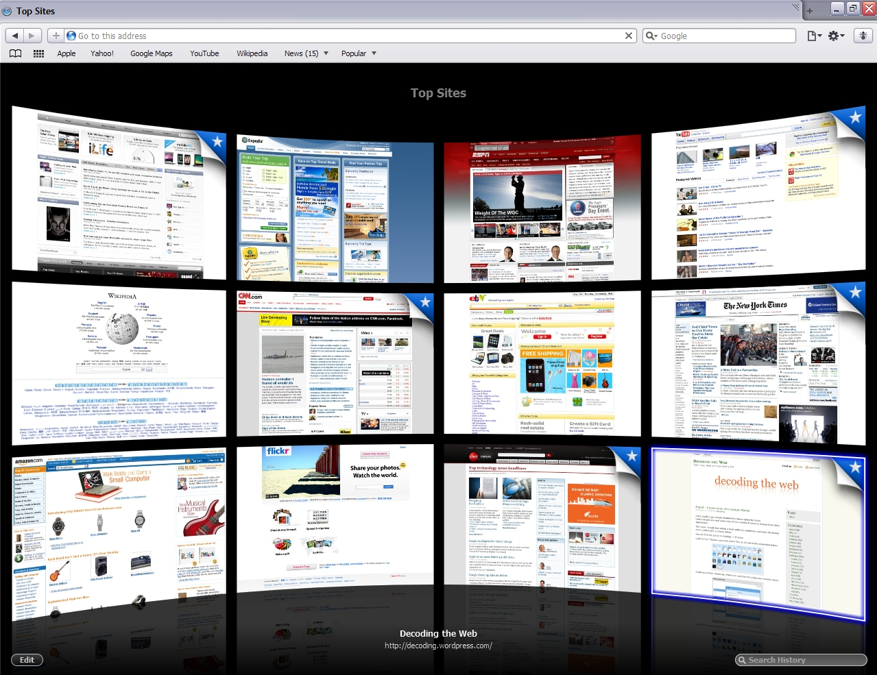 how to change start page on safari mac