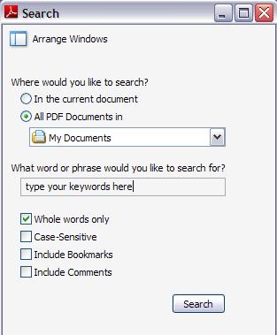 поиск pdf файлов в интернете
